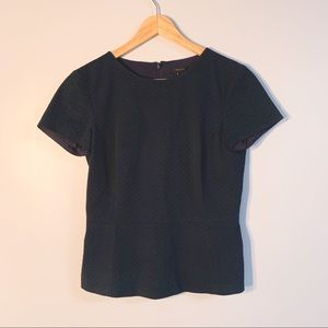 Theory short sleeved blouse